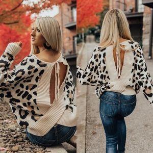 WINONA Leopard Print Sweater